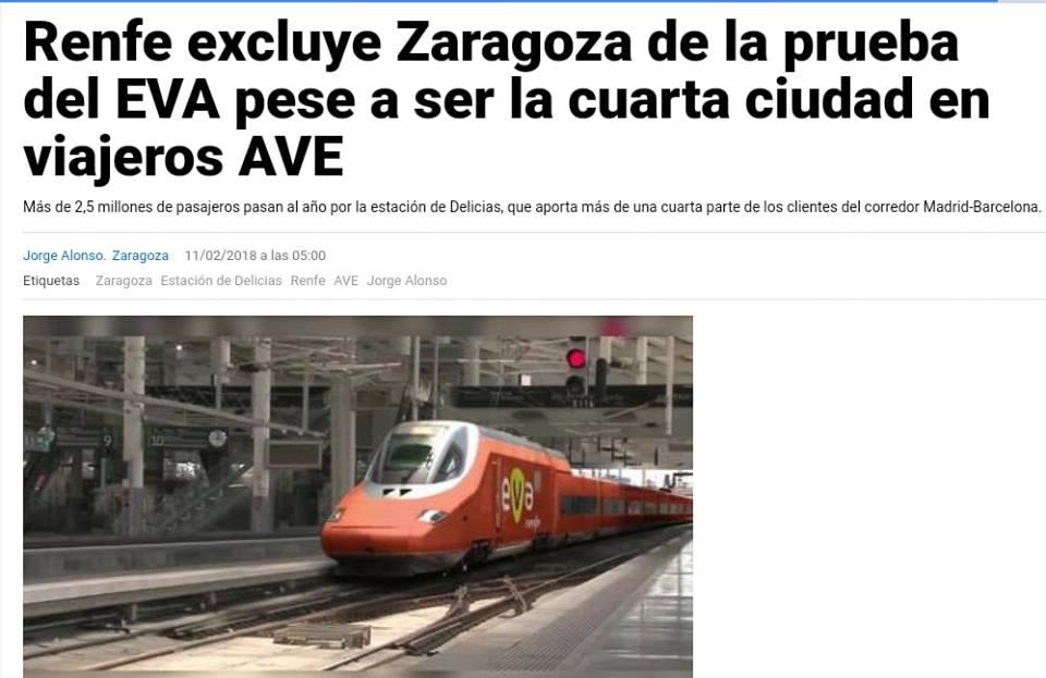 La importancia del tren en Aragón y los desprecios desde Madrid