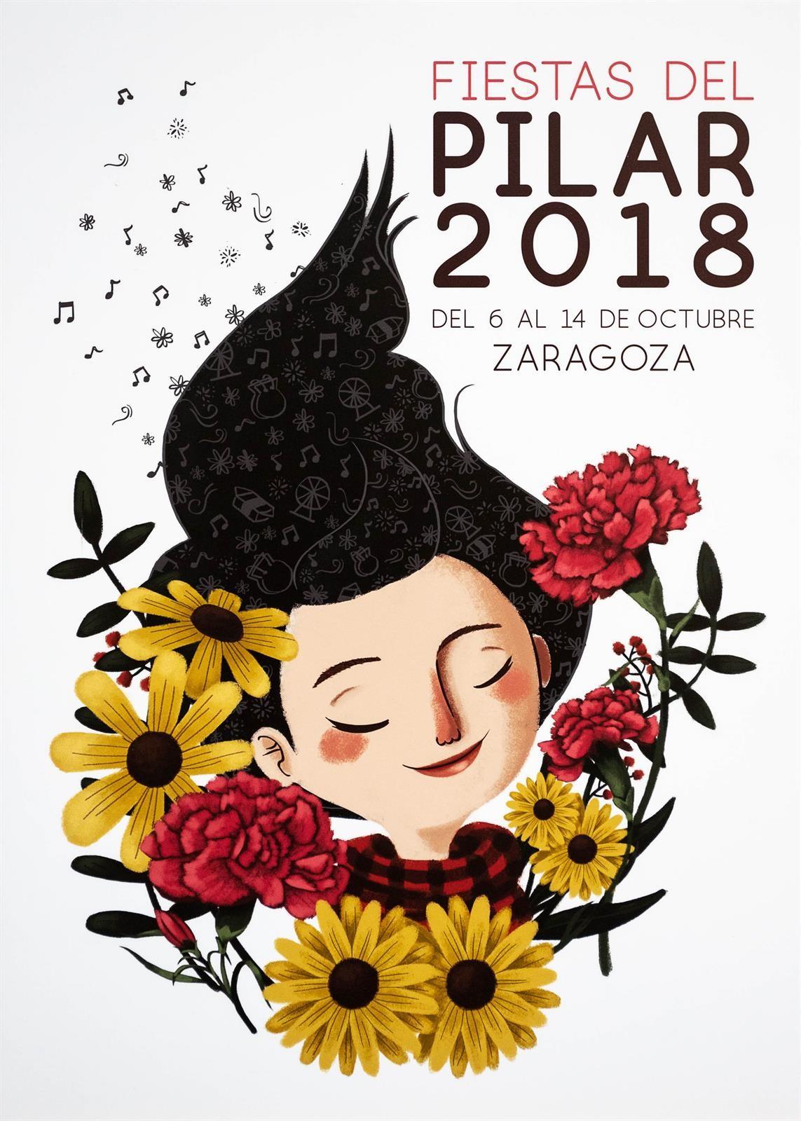 Cartel Fiestas Pilar 2018