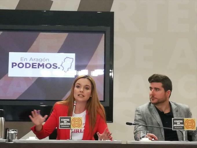 Maru Díaz nuestra futura Presidenta de Aragón